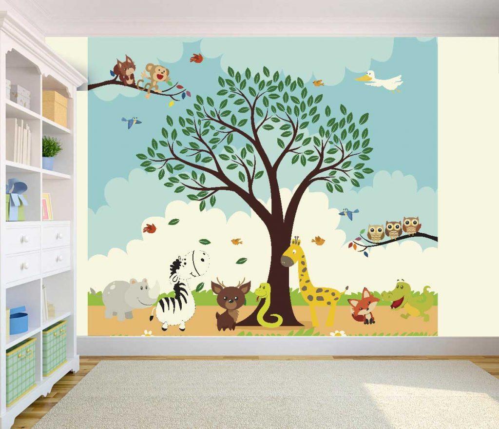 Papel de parede quarto de Criança